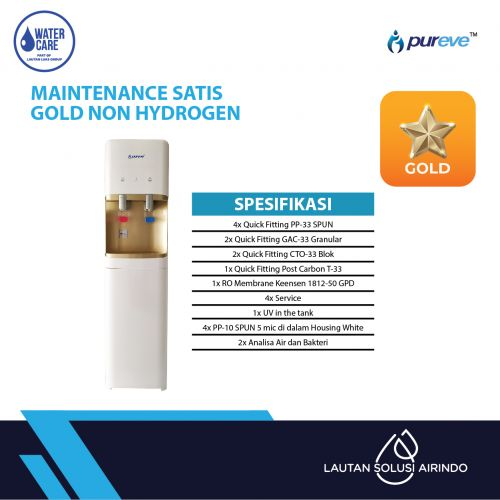 PAKET SERVICE RO DISPENSER SATIS GOLD