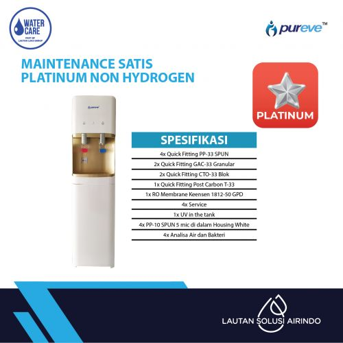 PAKET SERVICE RO DISPENSER SATIS PLATINUM