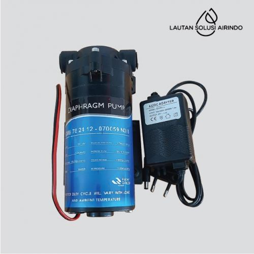 RO Pump BP-01-50 GPD + Adapter