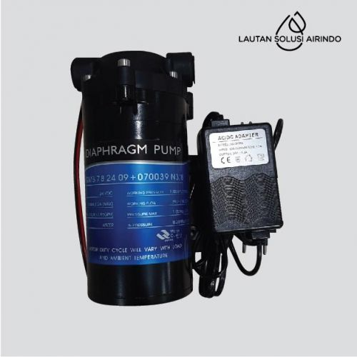 RO Pump BP-01-75 GPD + Adapter