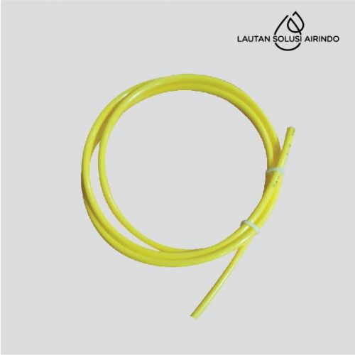 RO TUBE ( 1/4 ) YELLOW / 1 METER