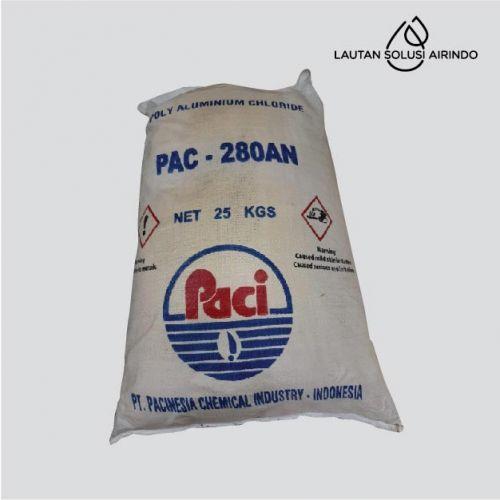 Industrial Grade PAC Poly Alumunium Chlorida 280 / 25 Kg