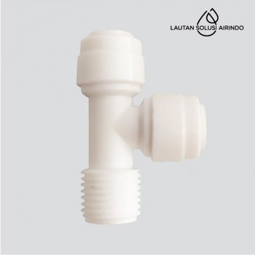 T MALE TEE ADAPTER ( 1/4, 1/4, 1/4 )