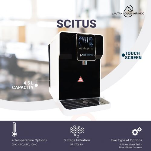 PUREVE WATER PURIFIER RO SCITUS SOURCE