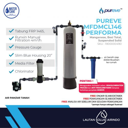 PUREVE WATER FILTER PACKAGE MFDMCL146 PERFORMA PRO