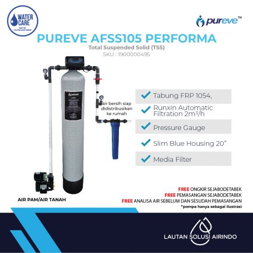 PUREVE WATER FILTER PACKAGE AFSS105 PERFORMA PRO