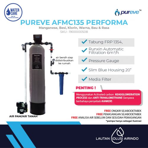 PUREVE WATER FILTER PACKAGE AFMC135 PERFORMA PRO