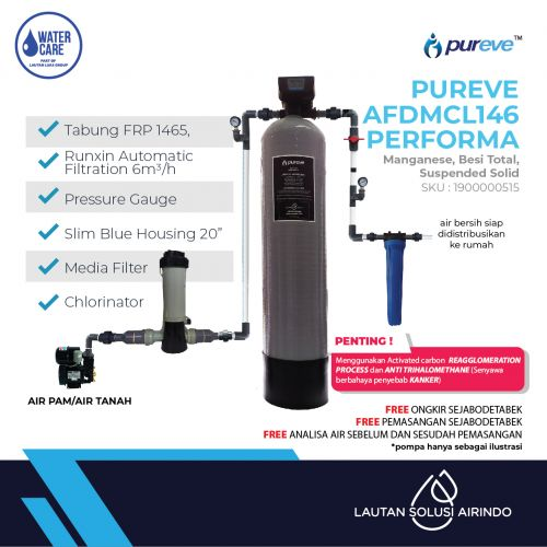 PUREVE WATER FILTER PACKAGEE AFDMCL145 PEFORMA PRO