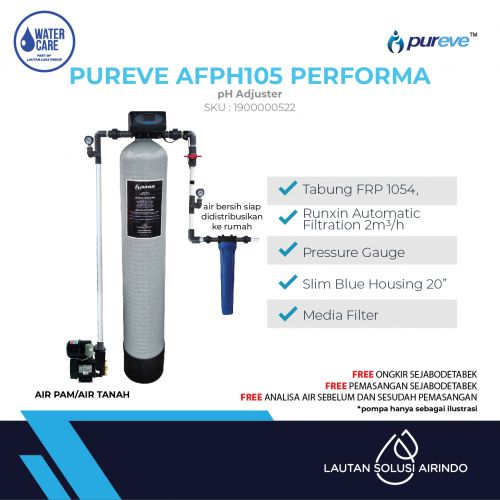 PUREVE WATER FILTER PACKAGE AFPH105 PEFORMA PRO