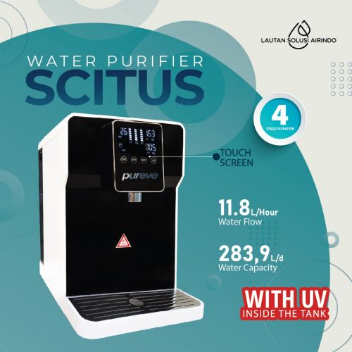 PUREVE WATER PURIFIER RO SCITUS WITH TANK