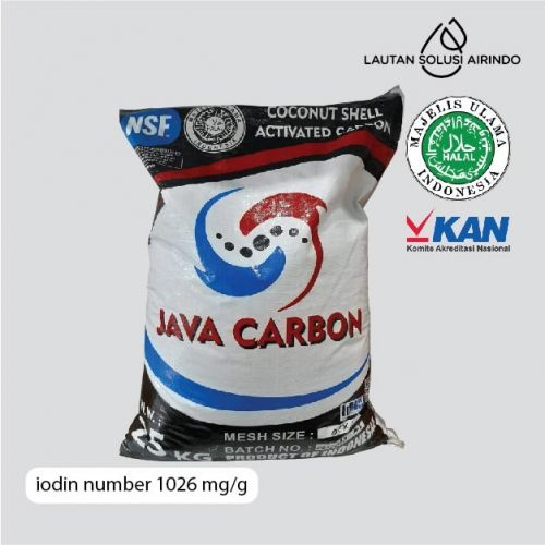 JAVA ACTIVATED CARBON / 25 KG