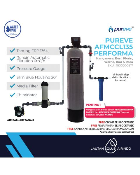PUREVE WATER FILTER PACKAGEAFMCCL135PEFORMA PRO