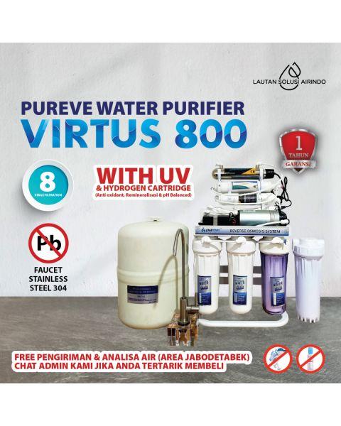PUREVE WATER PURIFIER RO VIRTUS 800